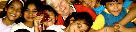 Olga Murray and the Nepal Youth Foundation