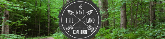 Support the 'We Want The Land Coalition'!