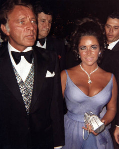 Richard Burton. Elizabeth Taylor, 1969  (42nd Awards)